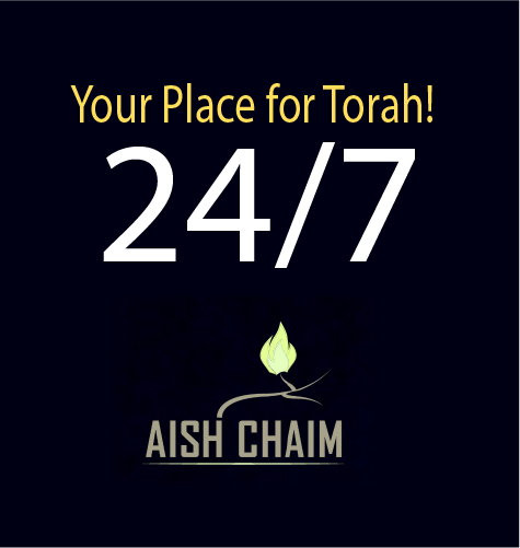 Smart Phone with Aish Chaim landing page